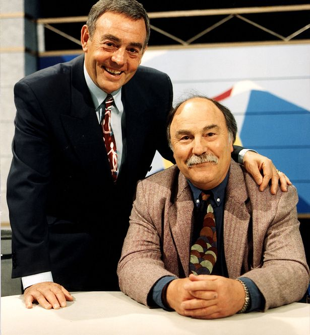 Ian-St-John-and-Jimmy-Greaves-TV-Sports-Presenters-and-Football-Commentators